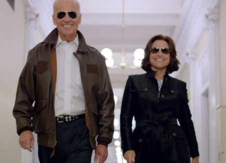 Joe biden supports julia louis dreyfus after her breast for Where did julia louis dreyfus go to college